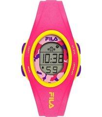 relógio feminino fila digital