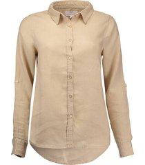 blouse linnen beige