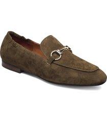 shoes 2514 loafers låga skor grön billi bi