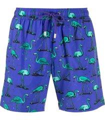bluemint flamingo-print swim shorts