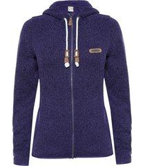 chaquetas mujer alamo blend-pro hoody jacket morado lippi