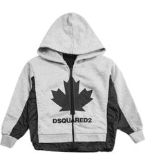 dsquared2 grey cotton hoodie