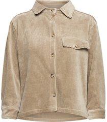 lourdes corduroy shirt overhemd met lange mouwen beige sparkz copenhagen
