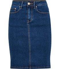 jeanskjol vicommit felicia short skirt