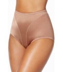 leonisa women's light tummy-control hi cut thong-silhouette panty 01214