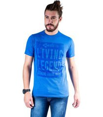 camiseta mister fish estampado living legend masculina