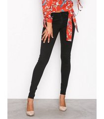 gina tricot skinny low waist superstretch jeans skinny black