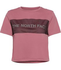 w tnl tee t-shirts & tops short-sleeved rosa the north face