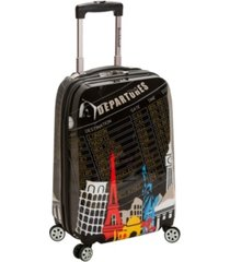 "rockland new york 20"" hardside carry-on spinner"