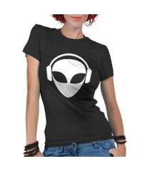 camiseta criativa urbana et dj alien