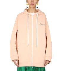 marni cotton oversize sweatshirt