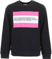 calvin klein sweatshirt with patch