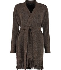 weekend max mara doroty belted cardigan