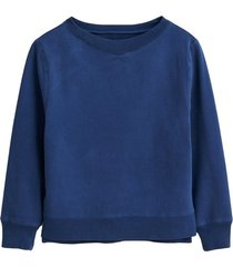 lakeside sweatshirt in light blue