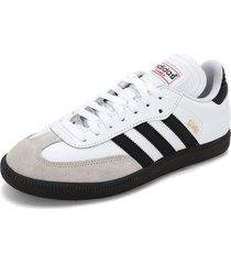 tenis lifestyle blanco-negro adidas performance samba classic