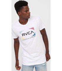 camiseta rvca quad branca