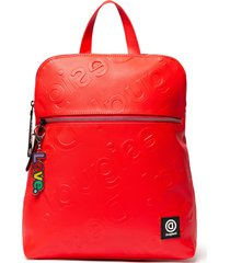 mochila free rojo desigual