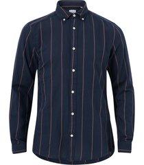 skjorta onstarif life organic stripe twill