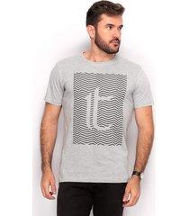 camiseta t shirt algodão teodoro masculino estampada slim