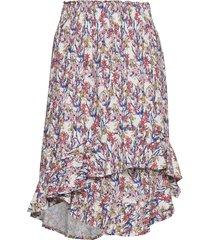 yvette knälång kjol multi/mönstrad munthe