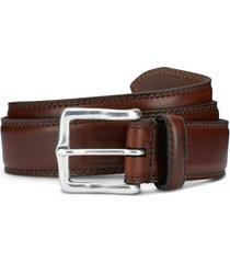 men's allen edmonds wide street leather belt