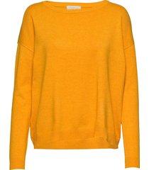 elne knit gebreide trui geel minus