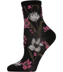 blossom twist women's anklet socks