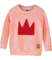 bluza crown pink