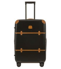 bric's bellagio 2.0 27-inch rolling spinner suitcase - green