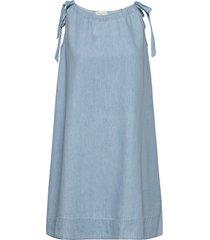 slfnovo sl dress w korte jurk blauw selected femme