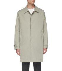 epaulette cuff coat