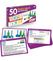junior learning 50 place value activities learning set