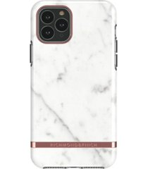 richmond & finch white marble case for iphone 11 pro