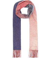reversible plain cashmere scarf