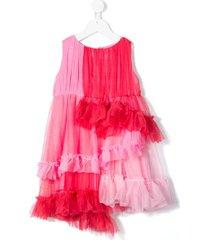 raspberry plum astrid tulle dress - pink