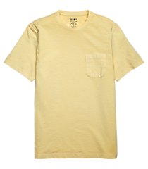 1905 tailored fit garment dyed slub t-shirt clearance