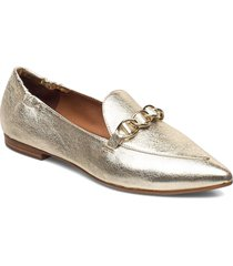 shoes 54503 loafers låga skor guld billi bi