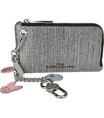 marc jacobs the glitter coin pouch