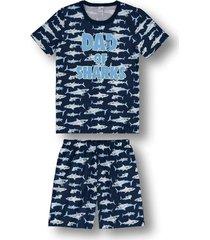 pijama marisol adulto  azul - azul - masculino - dafiti