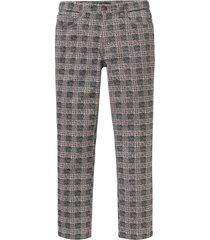 pantaloni 5 tasche fantasia regular fit (grigio) - bpc selection