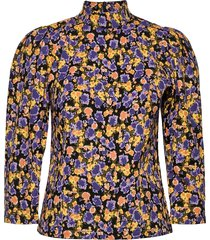 cameagz blouse blus långärmad multi/mönstrad gestuz