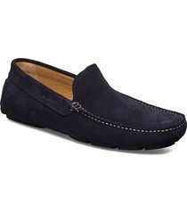 nicehill moccasin loafers låga skor blå gant