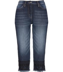 jeans capri con ricami (blu) - bpc selection