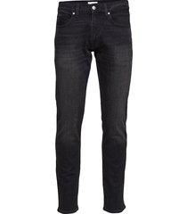 slim comfort denim - slim jeans zwart calvin klein