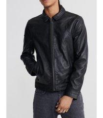 superdry men's curtis light leather jacket