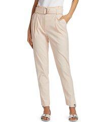 a.l.c. women's diego pants - gesso - size 14