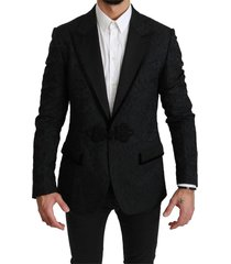 jacquard torero lace jacket blazer