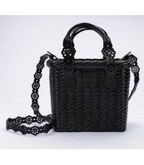 cartera lace bag viktor and rolf casual negro melissa