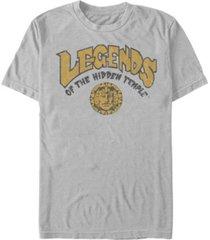 nickelodeon men's legends of the hidden temple retro logo short sleeve t-shirt
