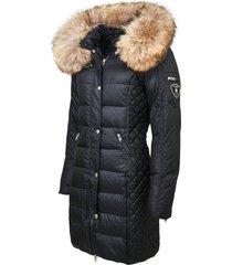 beam' jasje met natuurlijk bont